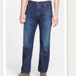 Rag & Bone Button Fly Slim Straight Jeans Sz 33x33